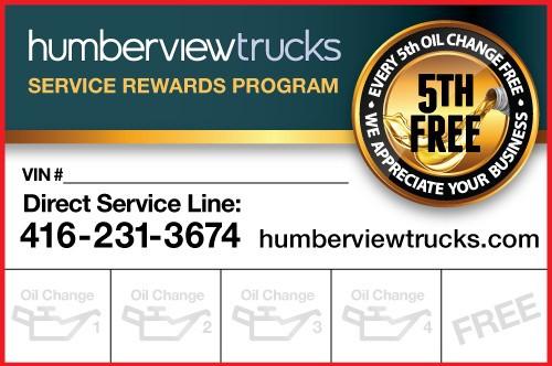 Service Rewards Program
