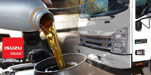 20% Off Isuzu Oil Change
