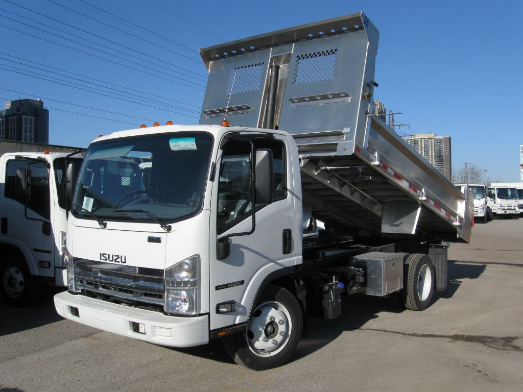 Isuzu Dump Truck Upfit Options