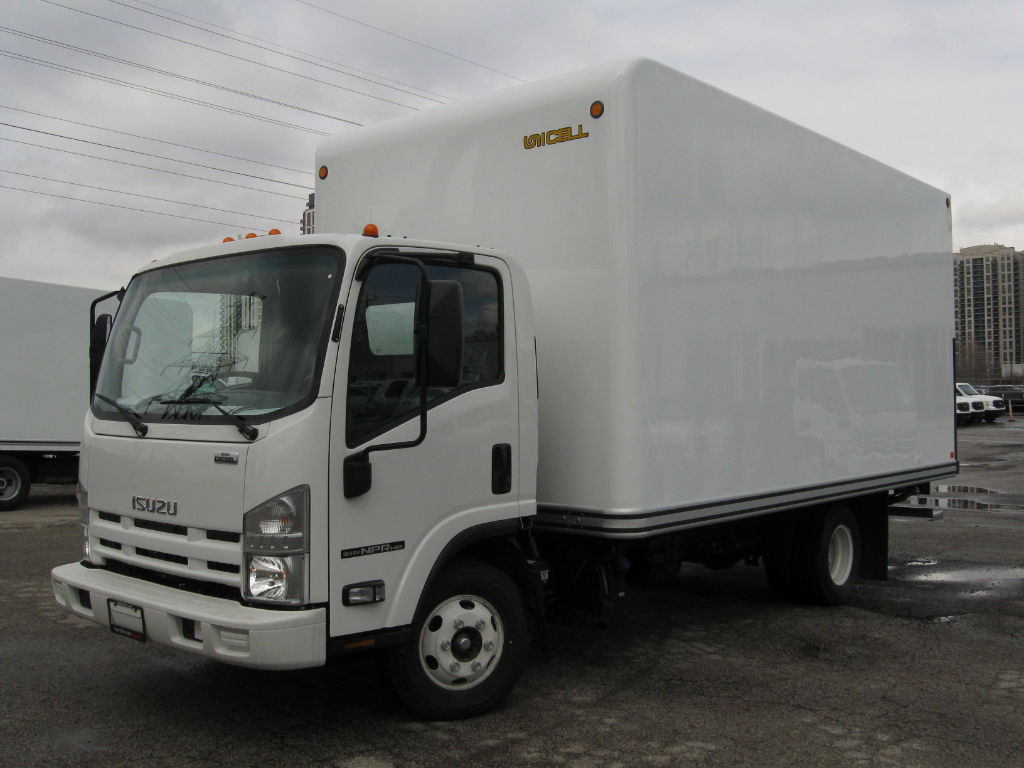 Isuzu Commercial Truck Upfit Options