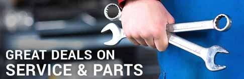 Truck Parts & Service Specials