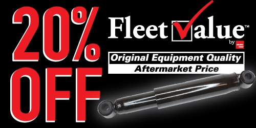 20% Off Isuzu FleetValue™ Shocks