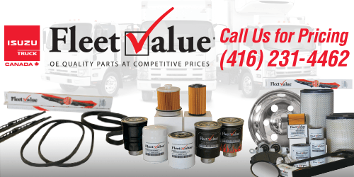 Quality Isuzu Trucks FleetValue Parts