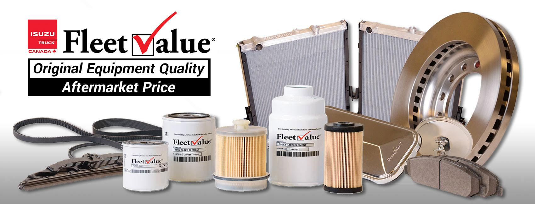 Isuzu FleetValue Truck Parts