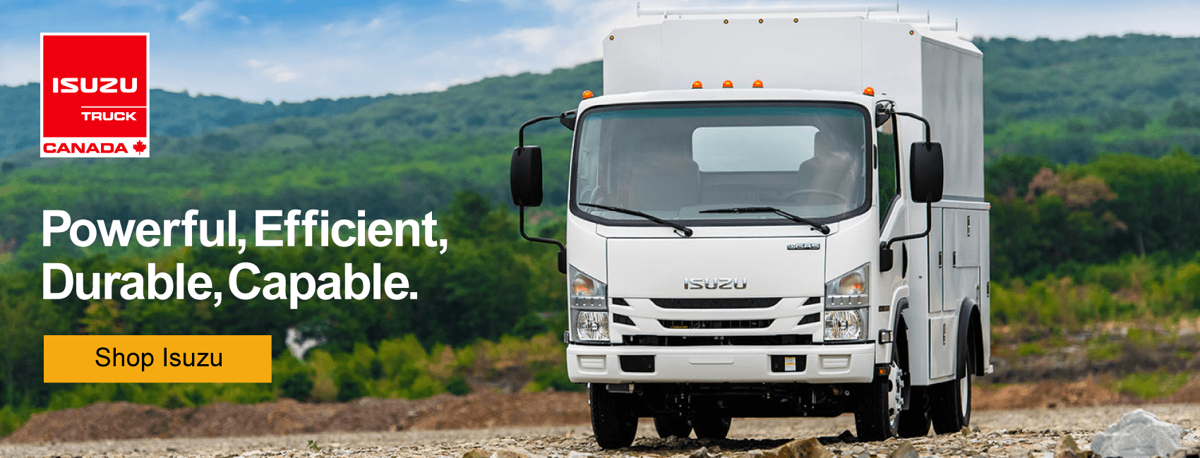 Humberview Isuzu commercial trucks heritage of dependability