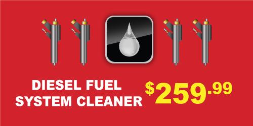 Isuzu Diesel Fuel System Clean