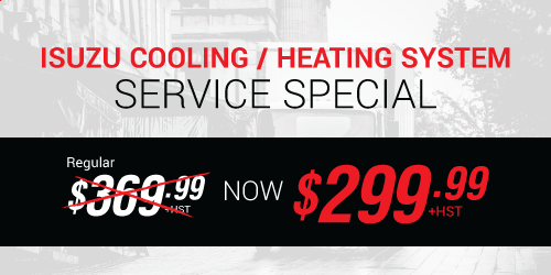 Isuzu Cooling/Heating System Special