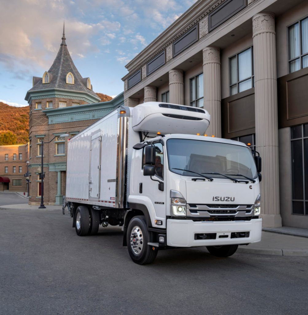 Isuzu Reefer Delivery Truck